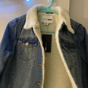 Jean cozy jacket